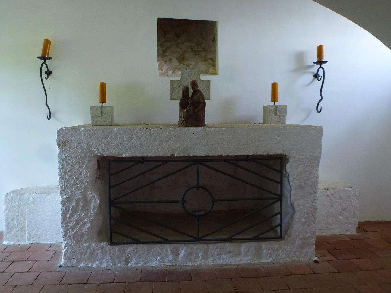 Altar unten  Breitensteinkapelle © Verena Frauenknecht