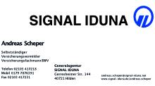 Signal Iduna - Andreas Scheper