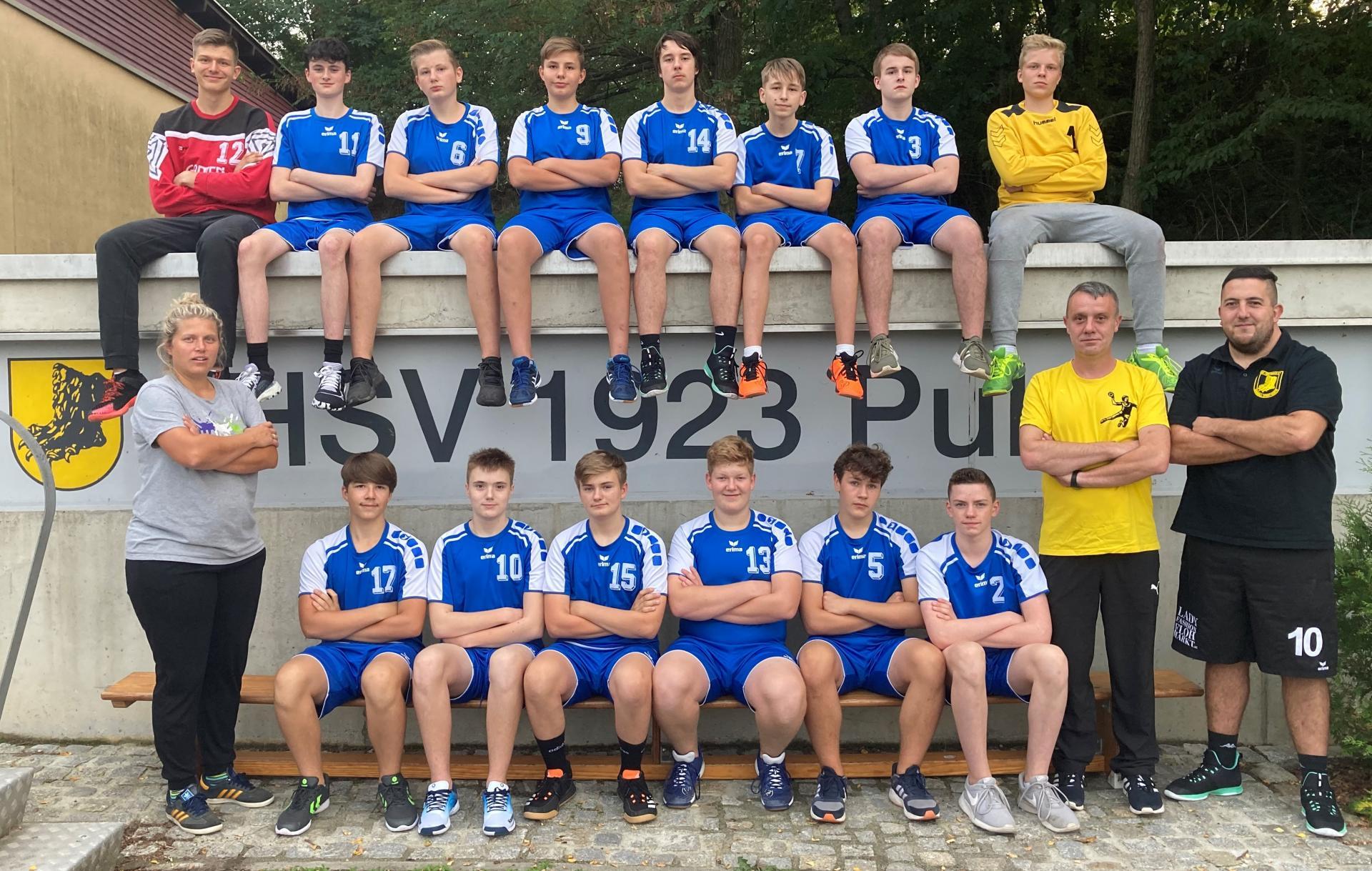 Mannschaftsfoto MJB 2020/21