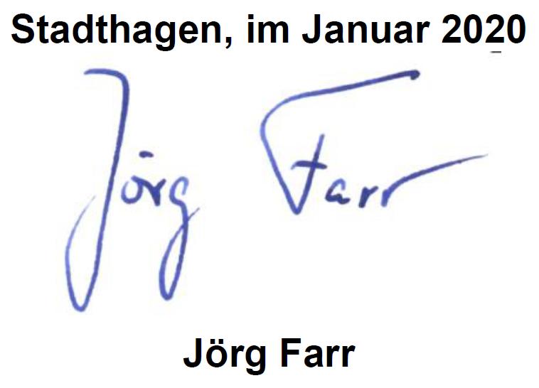 Unterschrift - Jörg Farr