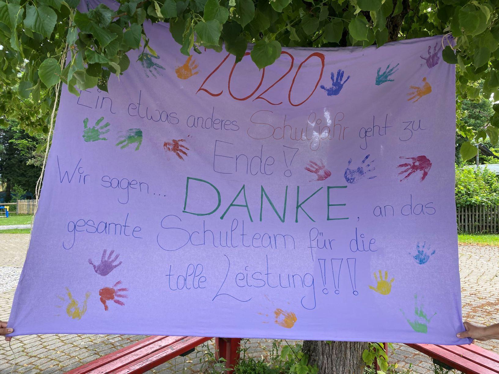 Banner Danke 2020