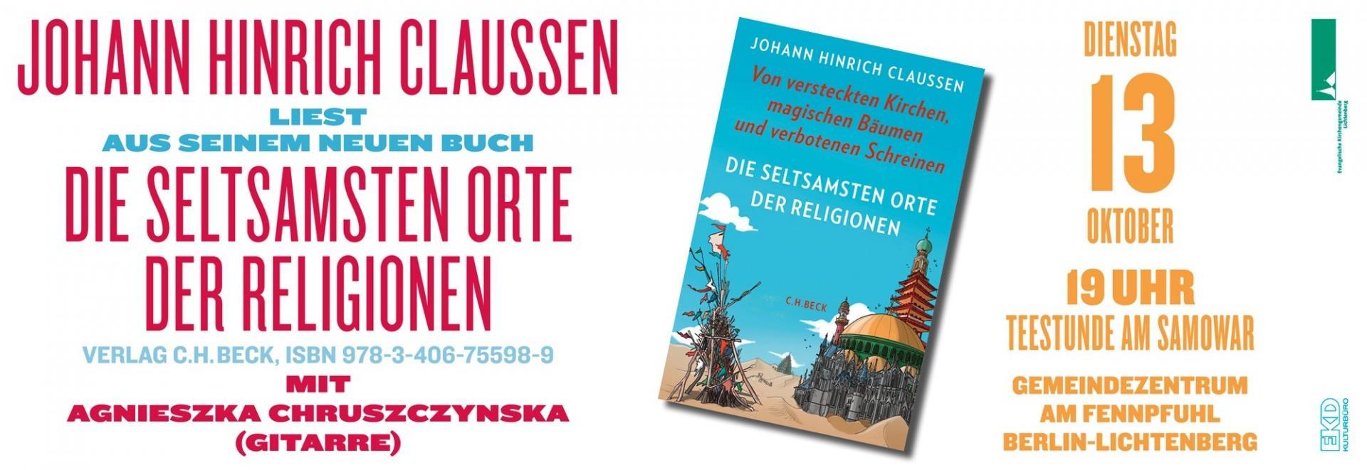 Johann Hinrich Claussen liest