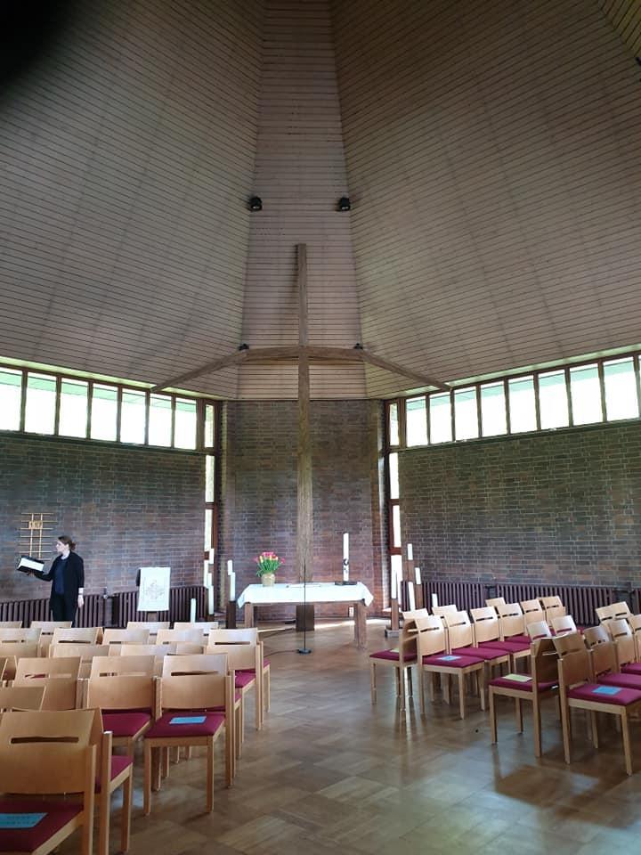 Gottesdienst im Gemeindezentrum