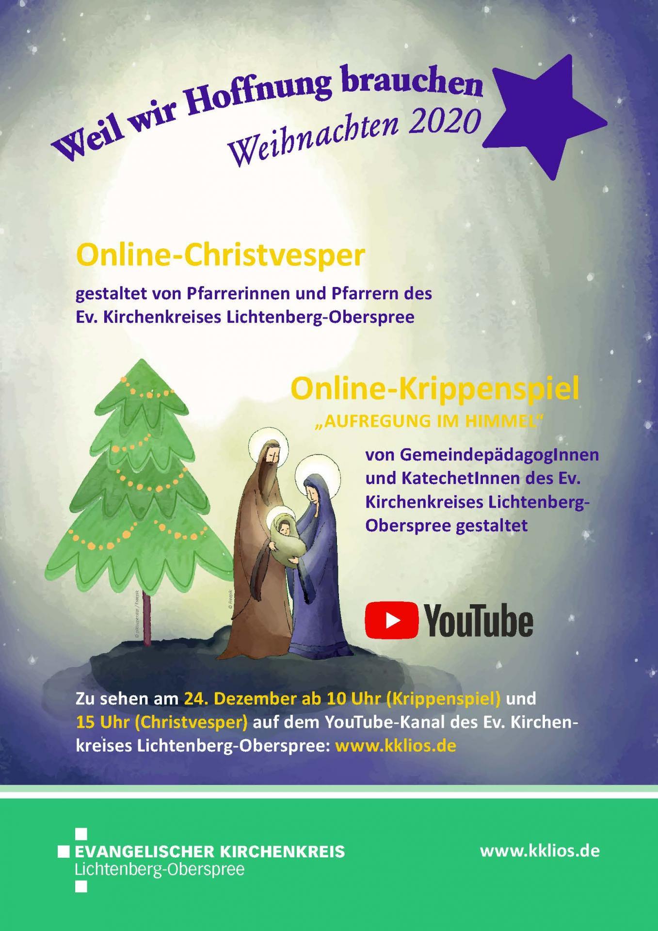 Online-Heiligabend