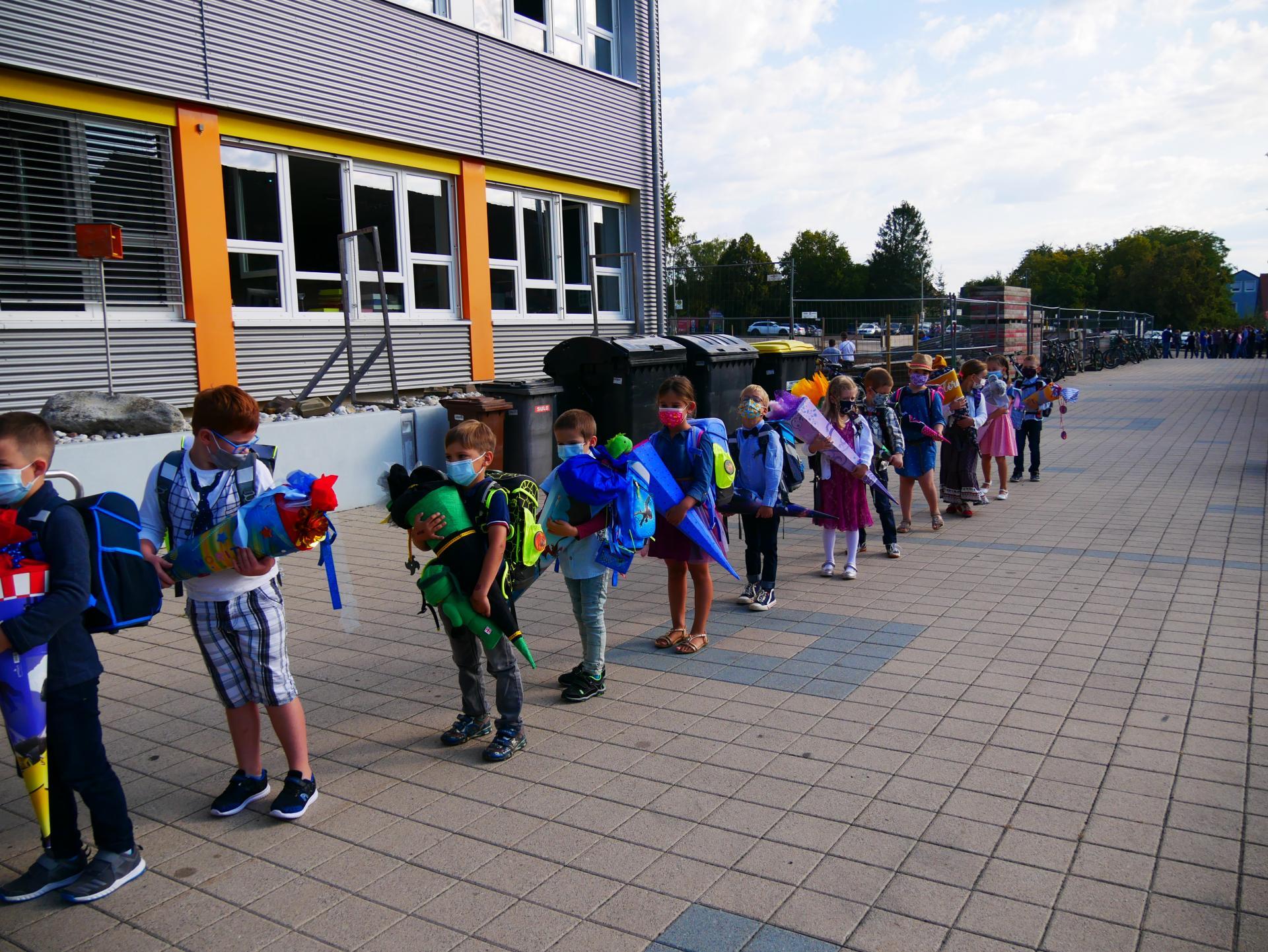 Erster Schultag 2021