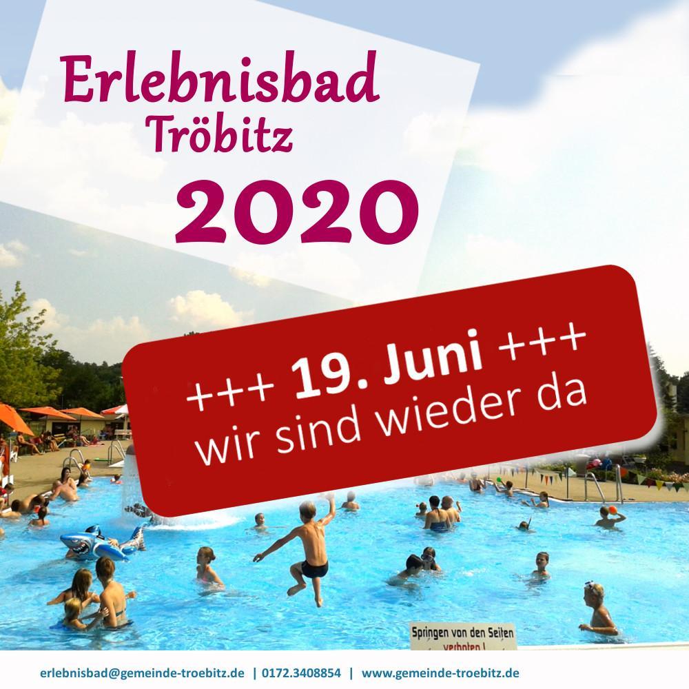 Elebnisbad Tröbitz 2020
