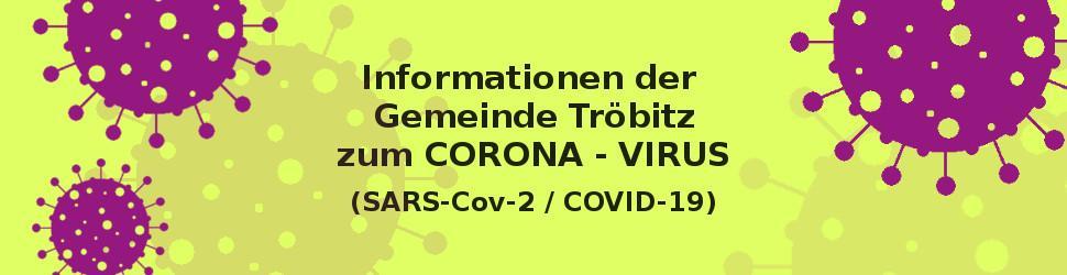 Grafik Corona Informationen der Gemeinde