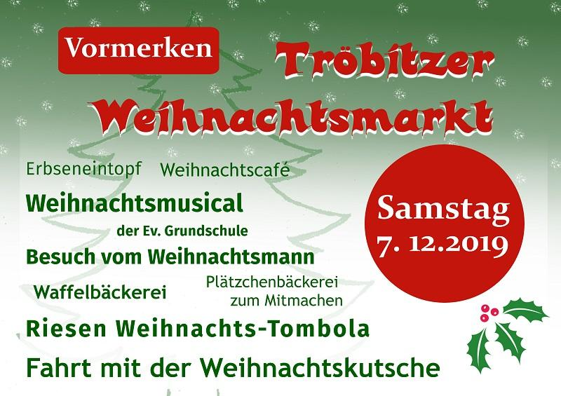 Weihnachtsmarkt Tröbitz 2019