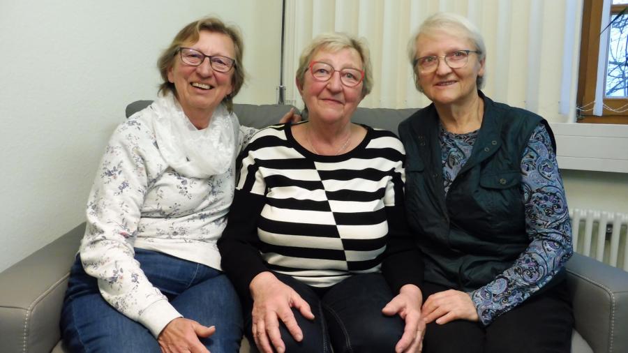 Vertreterinnen des Seniorenbeirats, November 2019