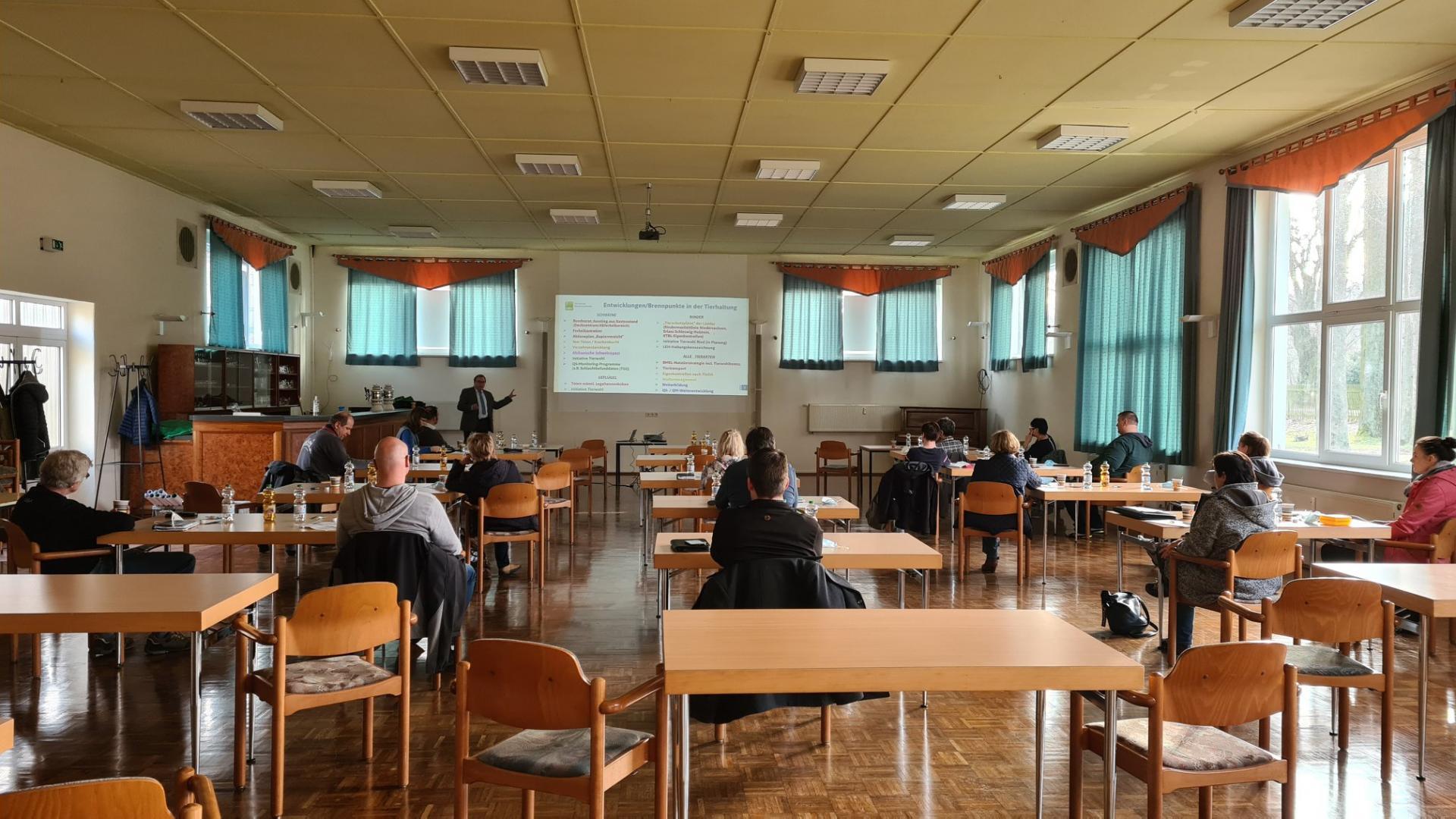 Weiterbildungsseminar für Schweinehalter in Kemlitz