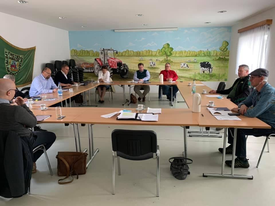 Beratung mit Landtagsabgeordneten zum agrarstrukturellen Leitbild