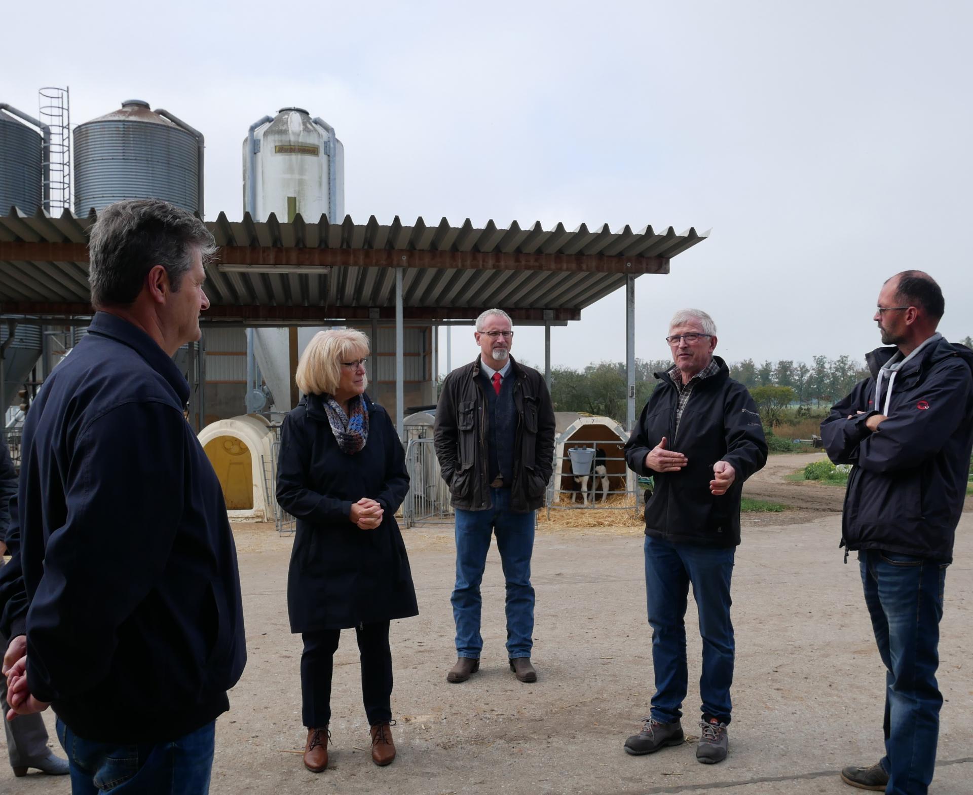 TF-Landrätin Kornelia Wehlan zu Gast in der Agrargenossenschaft Görsdorf
