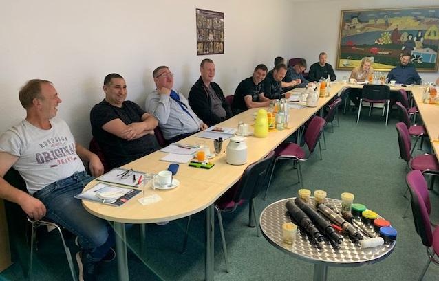 Sachkundelehrgang Schlachten - Theorieschulung in Luckau