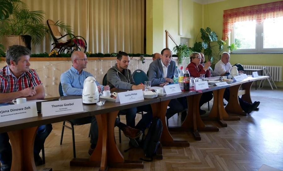 Regionalkonferenz zur Landtagswahl 2019 in Duben