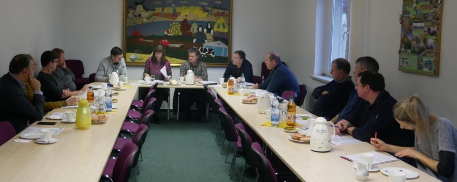 Vorstandssitzung Januar 2020