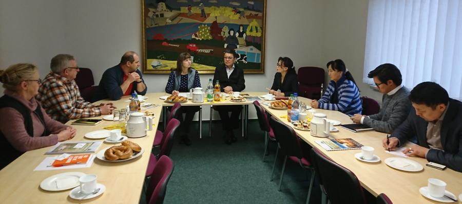Mongolische Delegation zu Besuch in Luckau