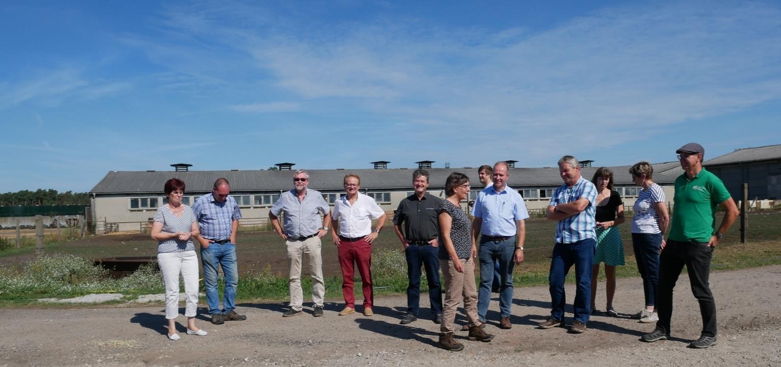 Landratsbesch Elbe-Elster 2020 in den Massener Höfen