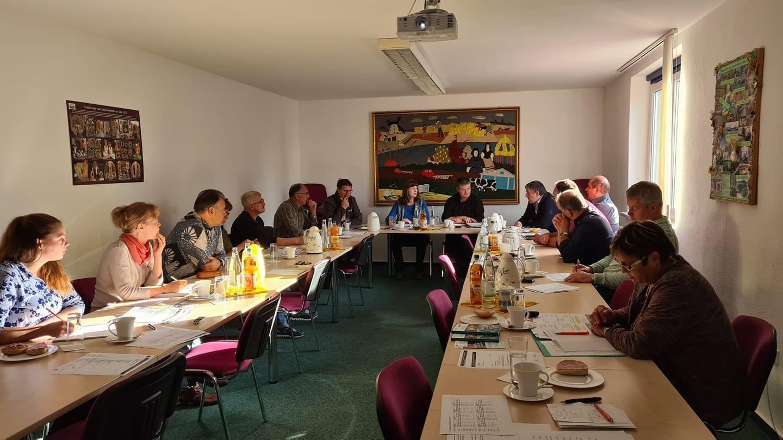 Vorstandssitzung am 06.10.2021 in der Geschäftsstelle Luckau