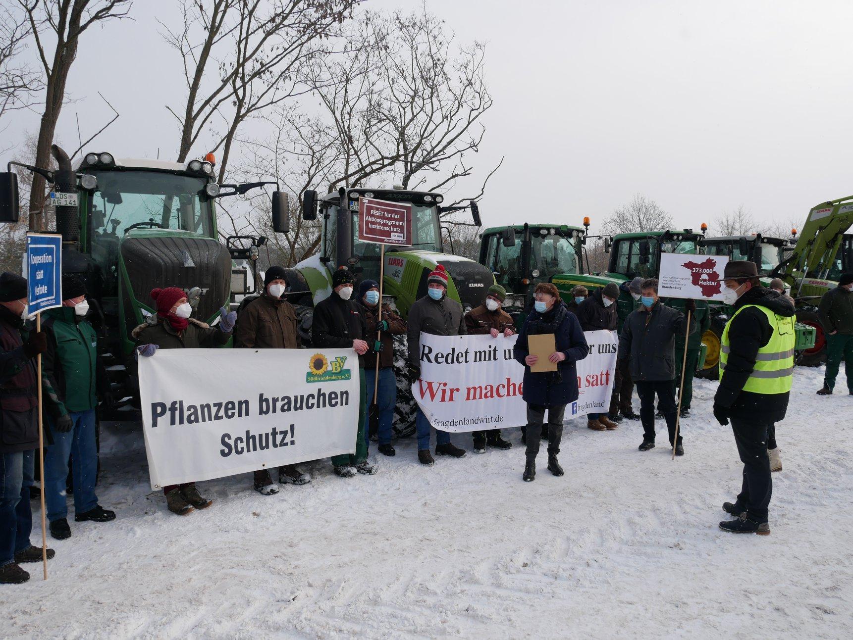 Bauern warnen vor Folgen des Aktionsprogramms Insektenschutz in Lübben