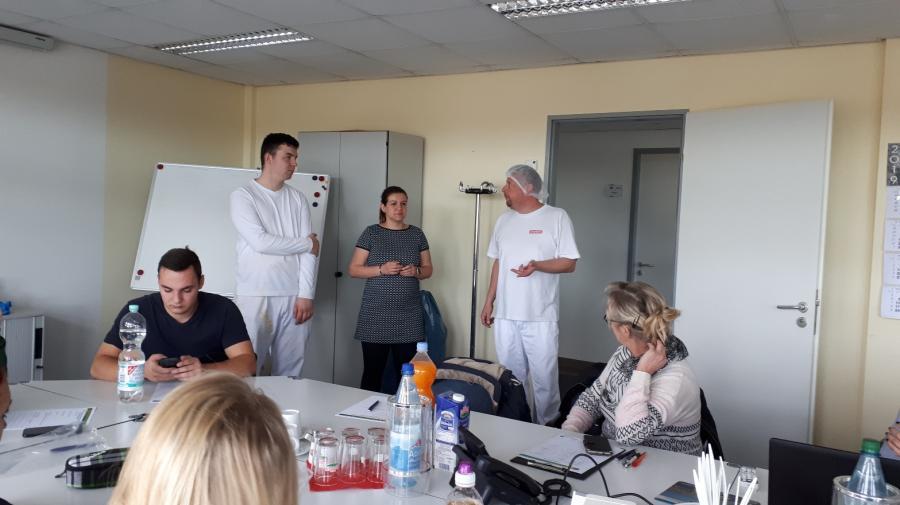 Lehrunterweisung Milchverarbeitung in Elsterwerda