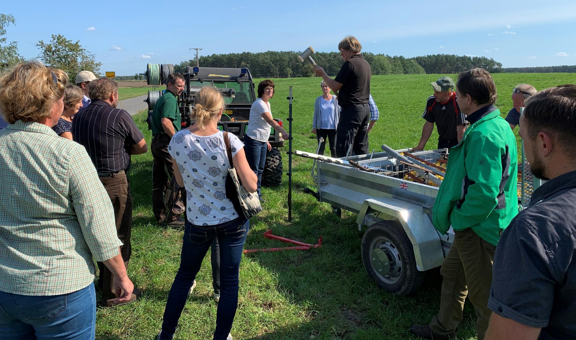 Weiterbildung für Mutterkuhhalter in Wehnsdorf