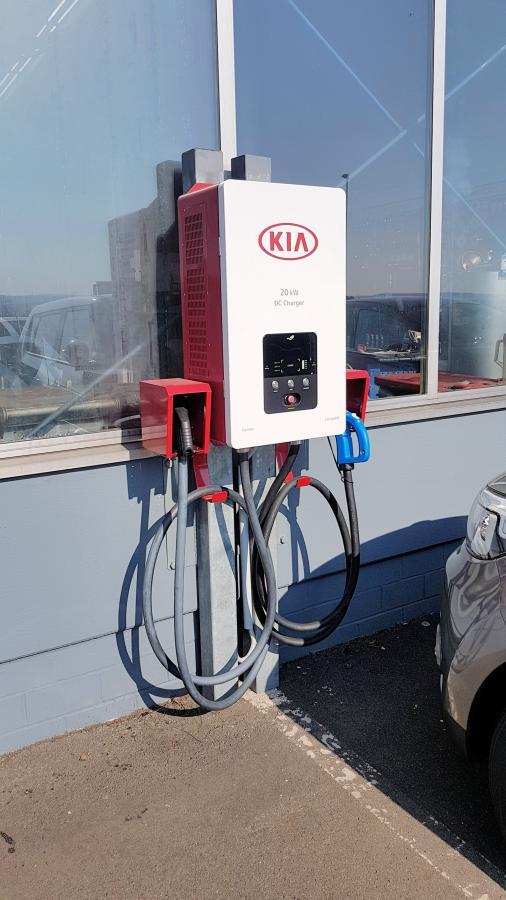 EwHM-Mobil Tankstelle