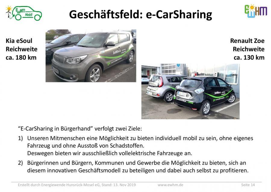 Unsere EwHM-Mobil Fahrzeuge