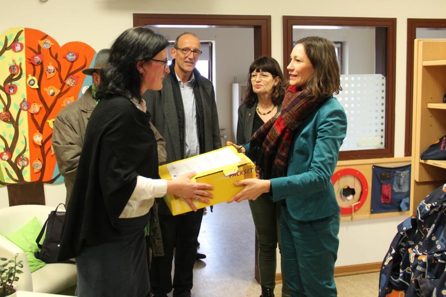 Besuch Ministerin Spiegel
