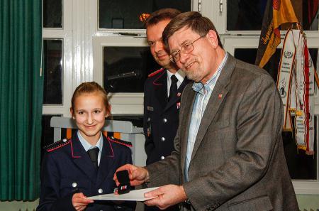2014 Jugendfeuerwehr JHV, Flutehrennadel