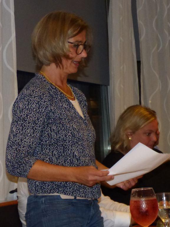 Vorsitzende Aenne von Wurmb