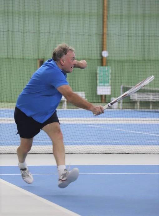 Nebenrunden-Verbandsmeister der Herren 65: Hartmut Rosengarten