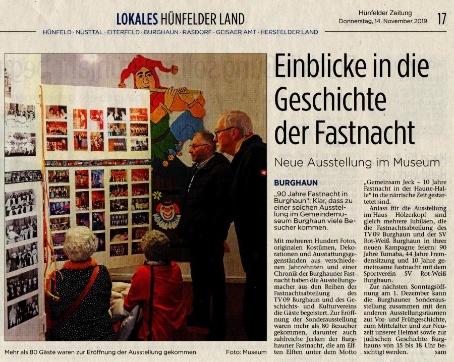 Pressebericht Fastnacht