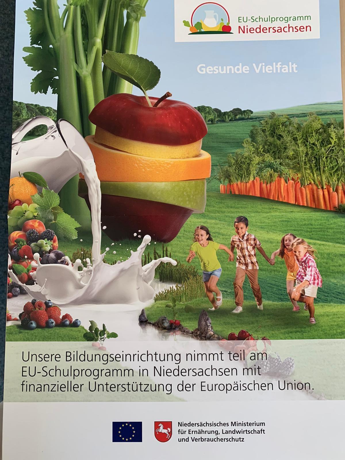 Schulprogramm Obst und Gemüse