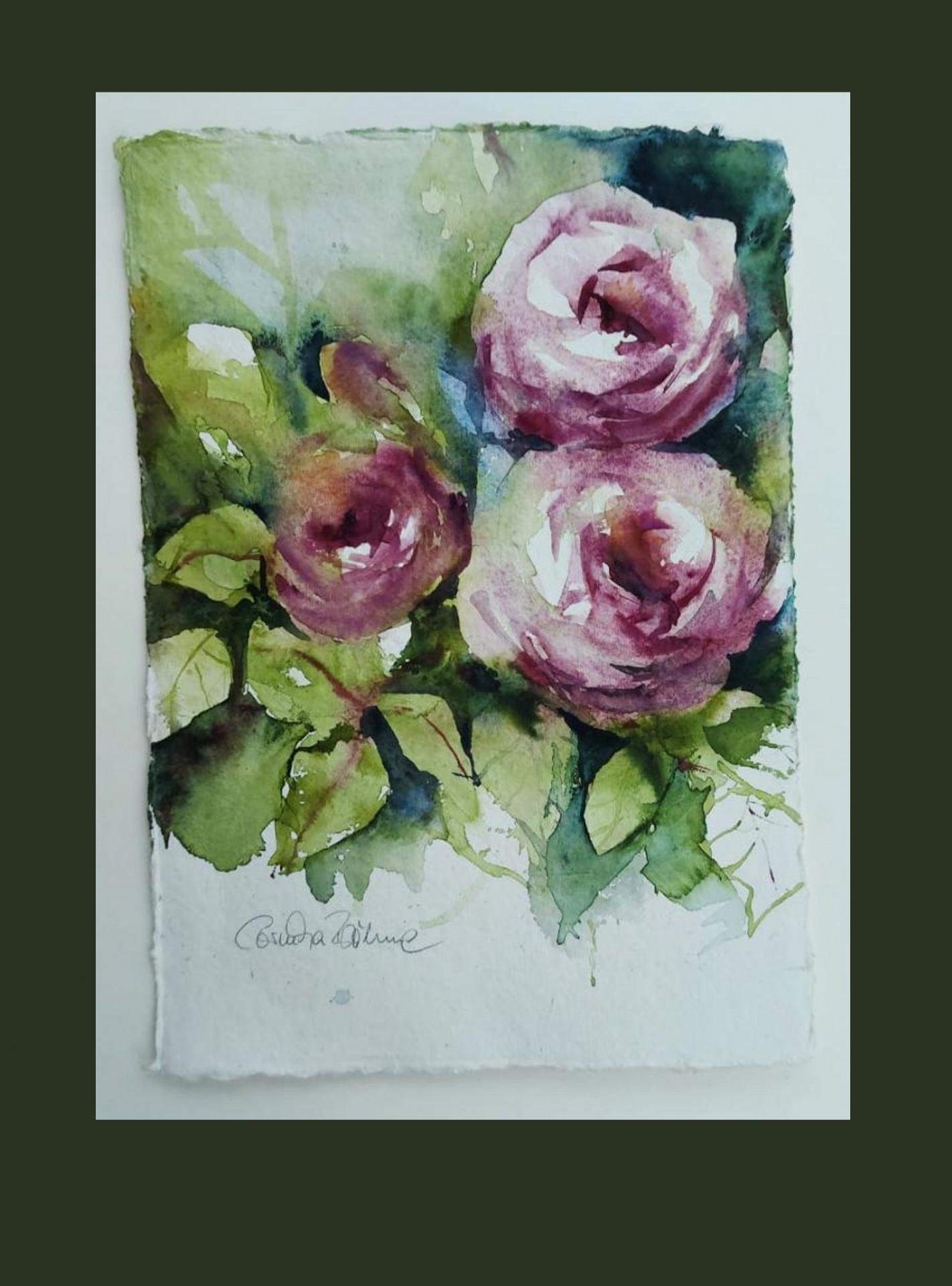 Aus meinem Skizzenbuch Rosen