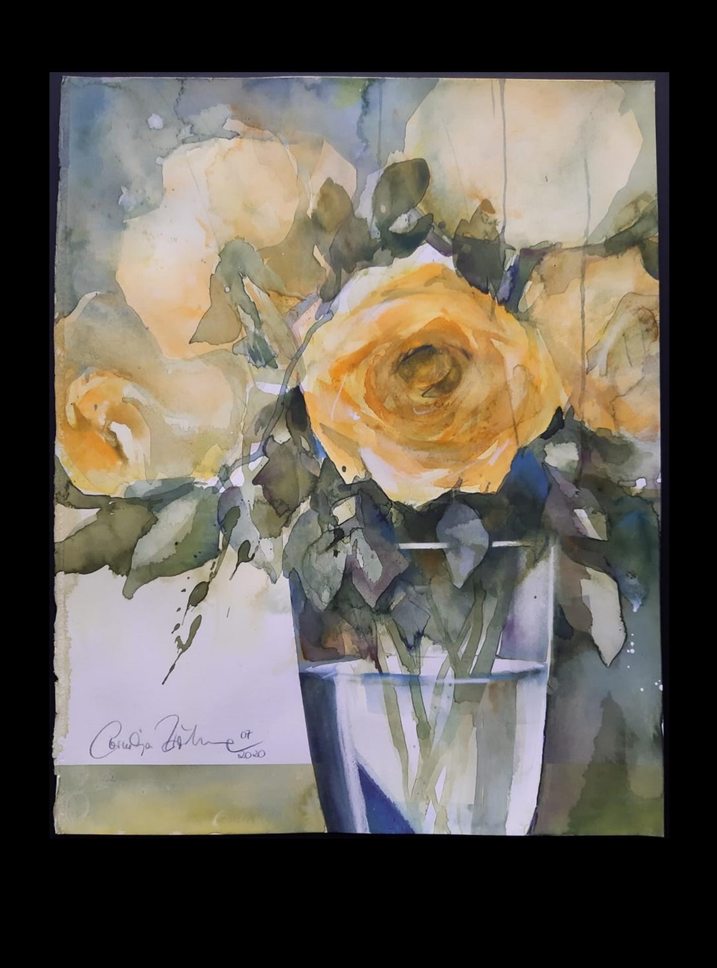Gelbe Rosen II