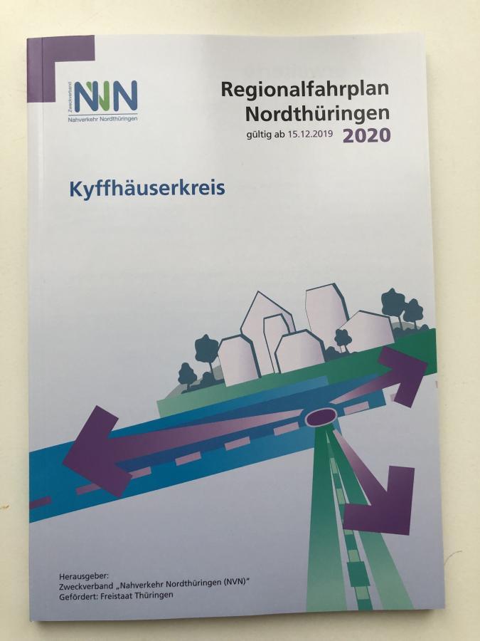 Regionalfahrplan Nordthüringen 2020