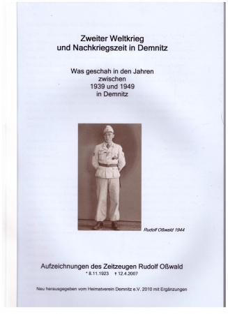 Zweiter Weltkrieg und Nachkriegszeit in Demnitz