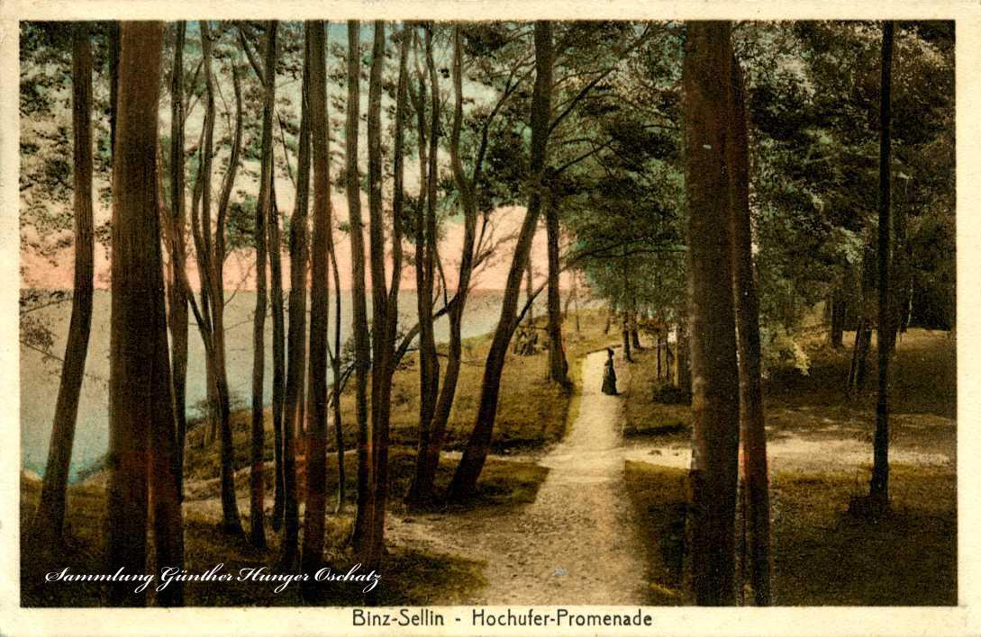 Binz-Sellin Hochufer-Promenade