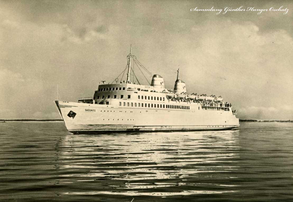 Fährschiff Sassnitz