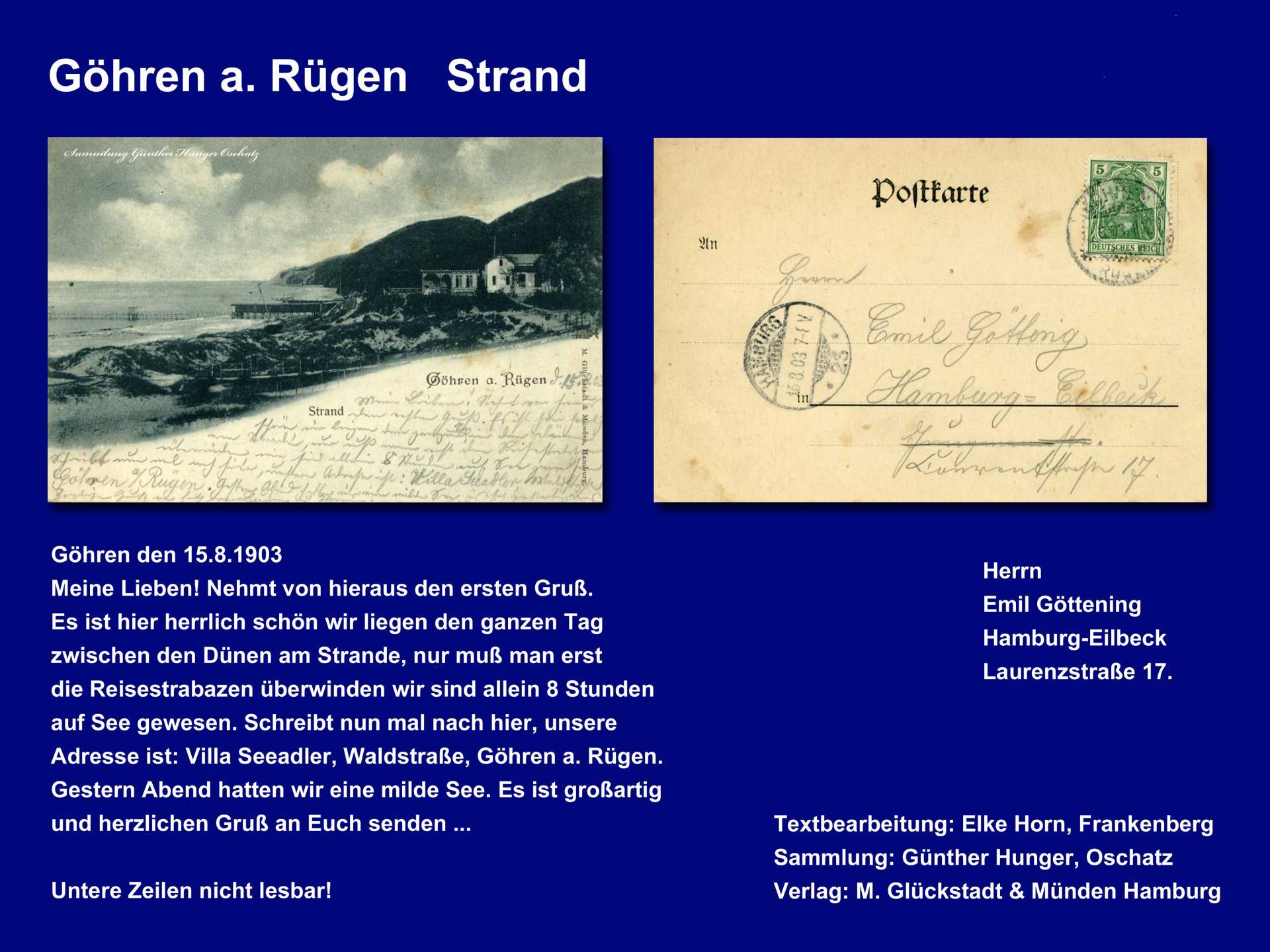 Göhren a Rügen   Strand