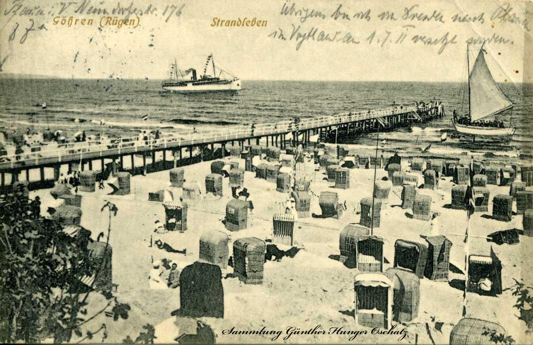 Göhren Rügen Strandleben