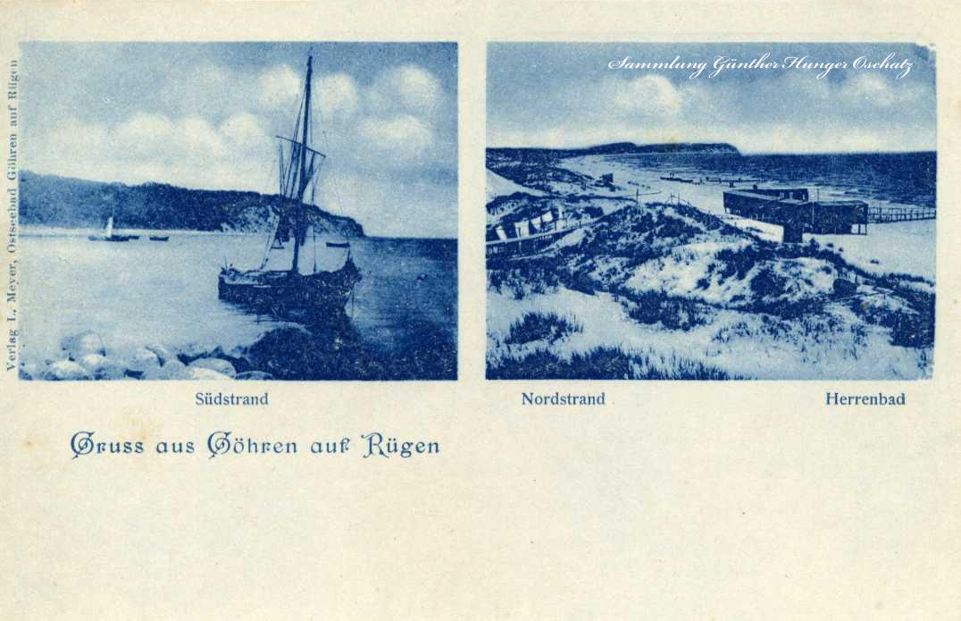 Gruss aus Goehren auf Rügen