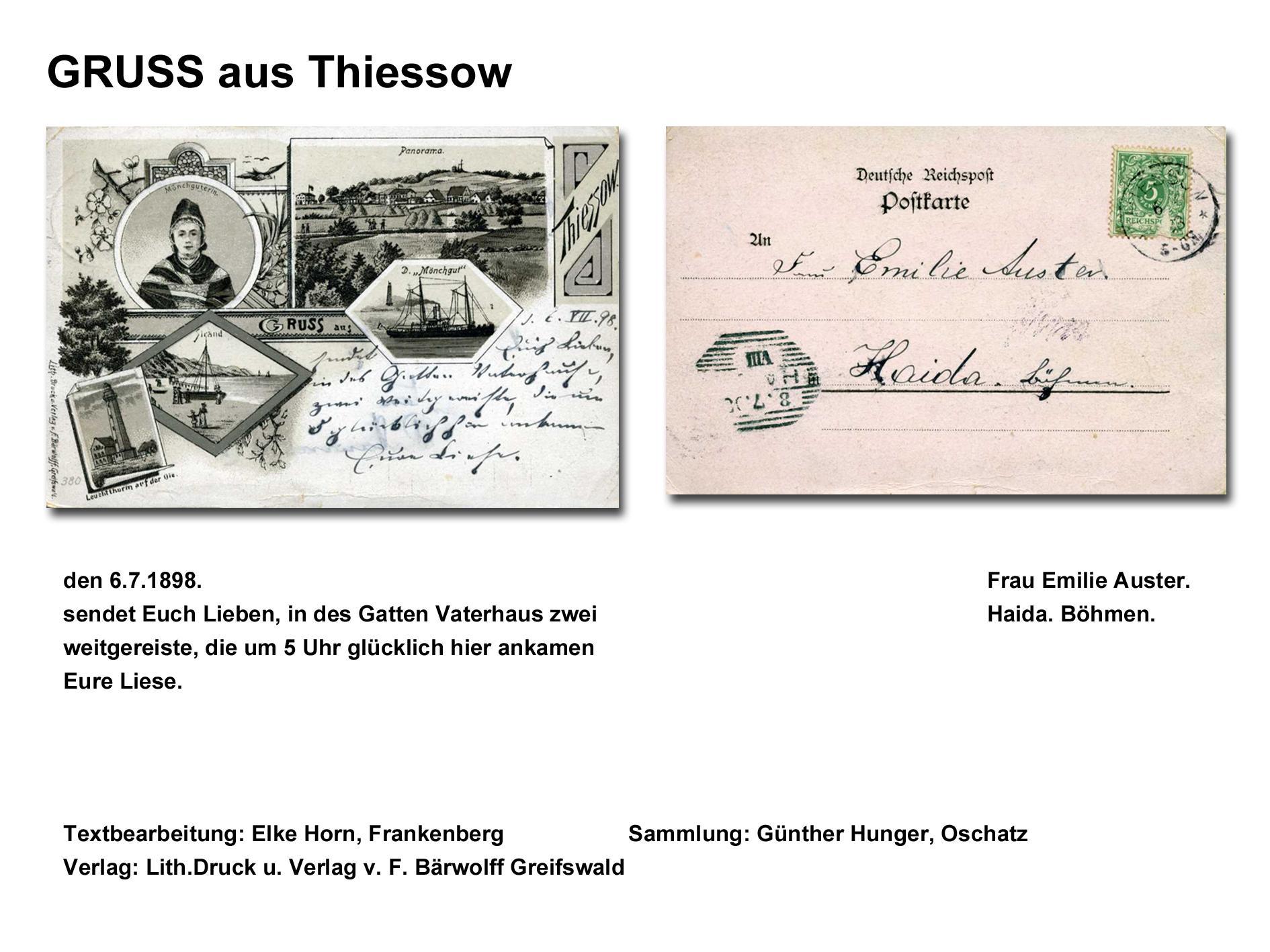 GRUSS aus Thiessow.