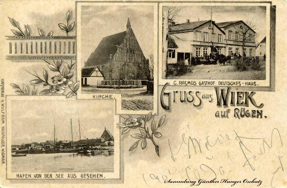 Gruss aus Wiek auf Rügen