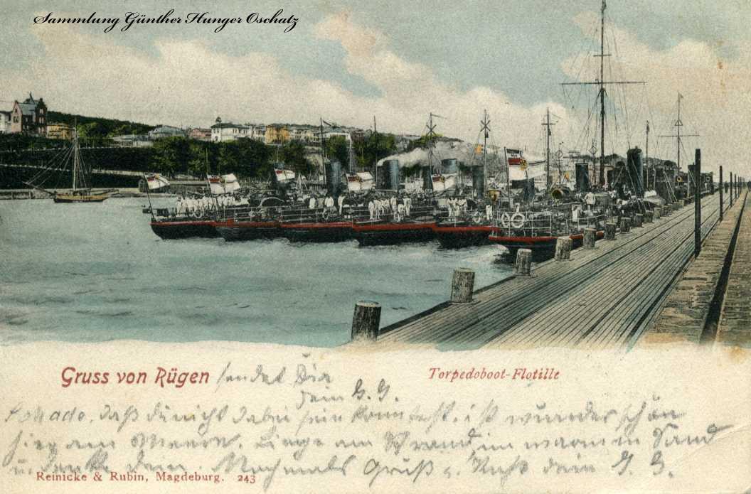 Gruss von Rügen Torpedoboot-Flotille