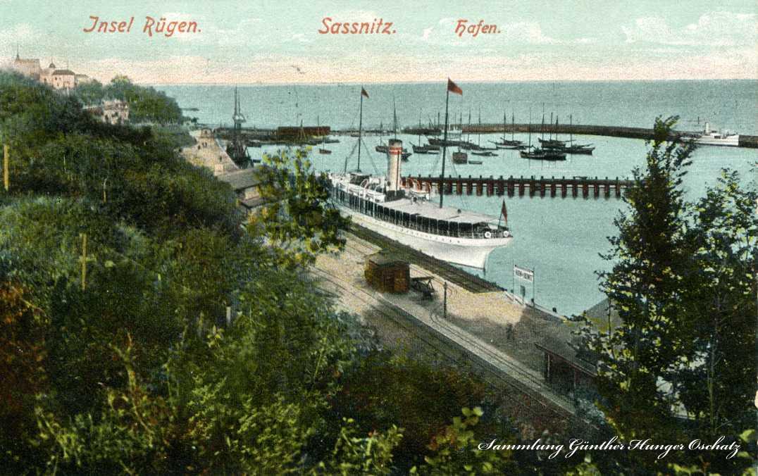 Insel Rügen Sassnitz Hafen