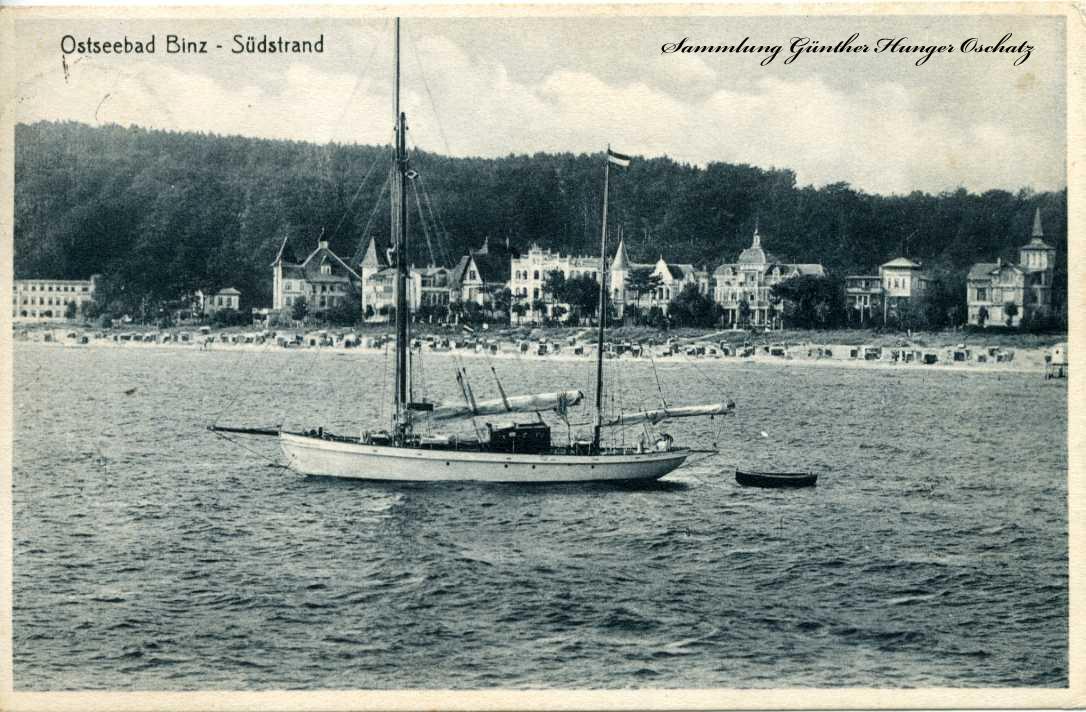 Ostseebad Binz Südstrand Strandpartie