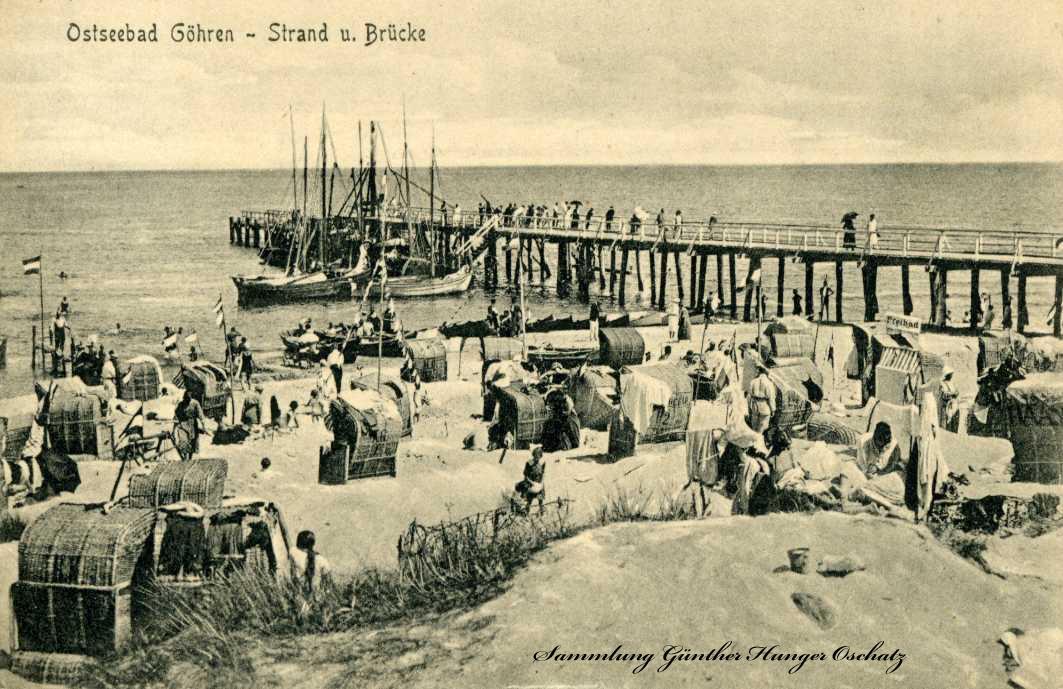 Ostseebad Göhren Strand u Brücke
