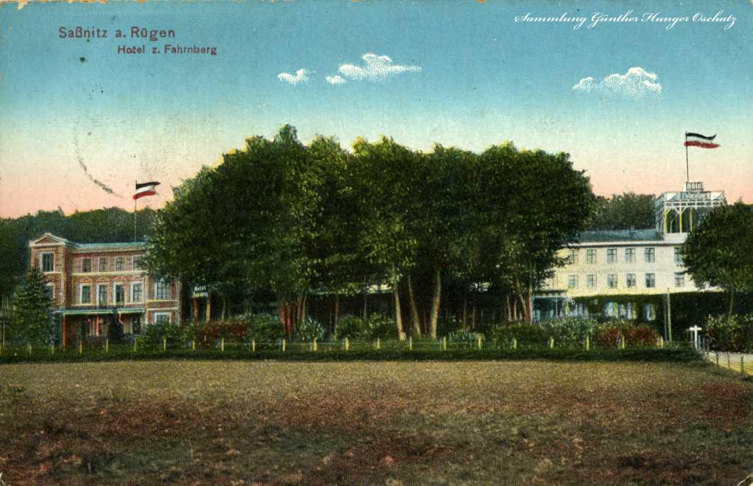 Saßnitz a. Rügen Hotel z. Fahrnberg