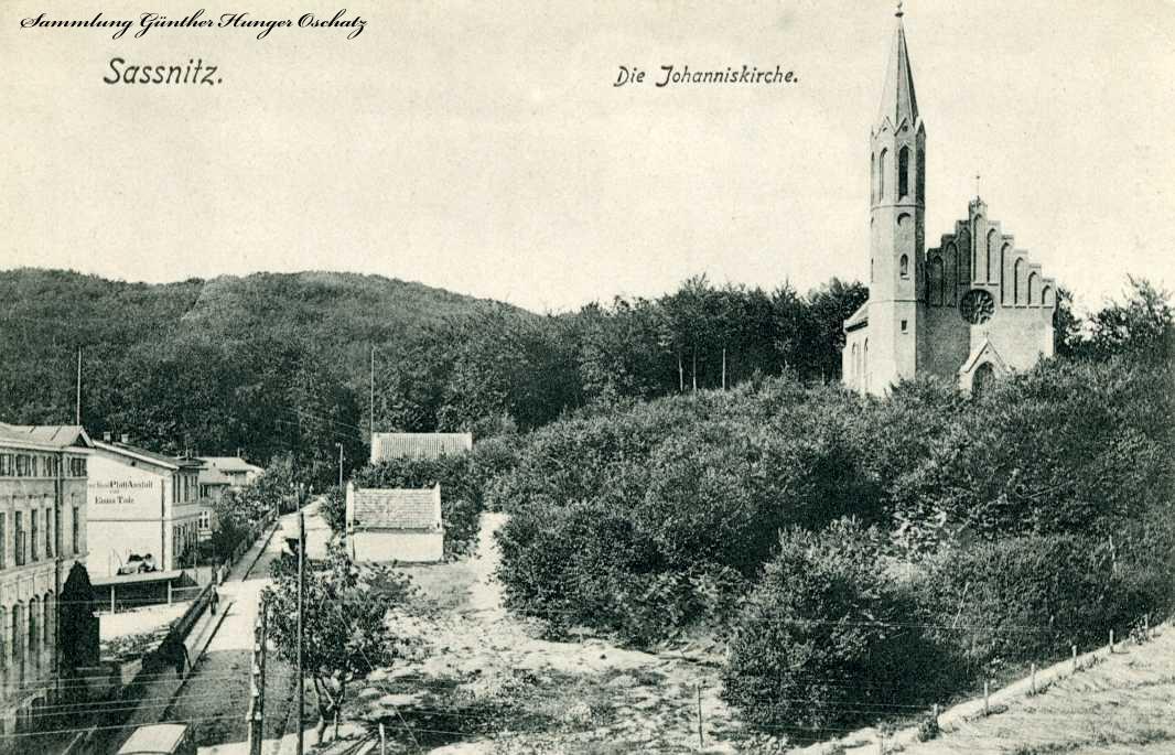 Sassnitz Die Johanneskirche